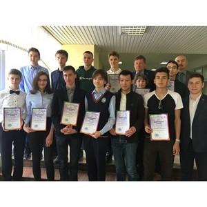 В Уфе наградили призеров инженерной олимпиады «Звезда»