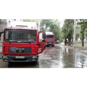 ОНФ добивается прекращения движения большегрузов по территории двора на улице Ворошилова в Воронеже