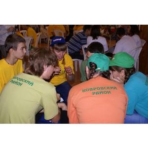 «Владимирэнерго»: «Добрая энергия» подружила три детских лагеря