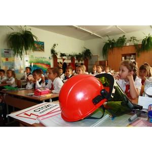 Сотрудники Удмуртэнерго напомнили школьникам правила электробезопасности