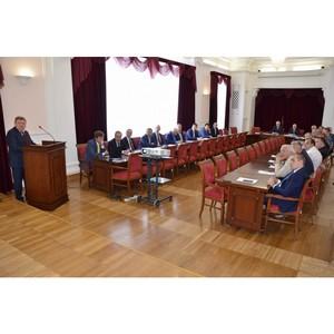 Заседание Координационного Совета по промышленной политике при Главе Администрации г. Екатеринбурга