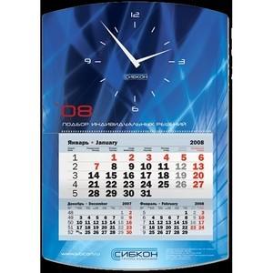 Календарь-домик в офисном интерьере