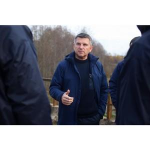 Глава компании МРСК Центра проверил темпы работ по расчистке просек ВЛ в Тверской области