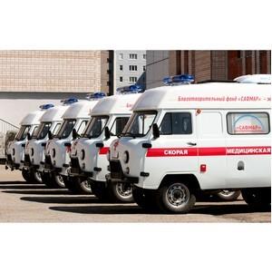 БФ «Сафмар» подарил Удмуртии очередную партию автомобилей скорой помощи