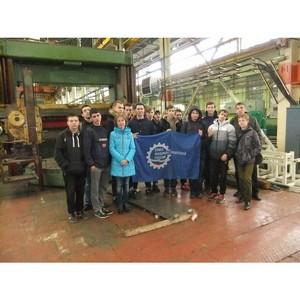 Студенты Новоуральского ТК отметили День машиностроителя вместе с представителями СоюзМаш России