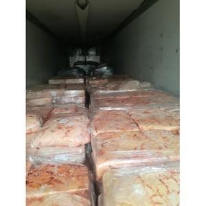 Смоленские таможенники  задержали более 10 тонн говяжьего жира, ввозимого  по поддельным документам