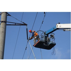 Нижегородскими энергетиками отремонтировано 4314 км линий электропередачи с начала года