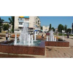 В регионе продолжается благоустройство общественных пространств