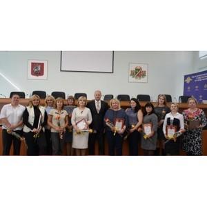 В УВД Зеленограда чествовали работников информационного центра
