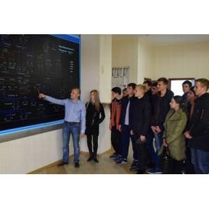 Будущие энергетики посетили «Мариэнерго»