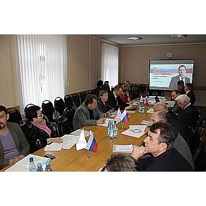 На заседании штаба ОНФ в Белгородской области представлены новые проекты Народного фронта