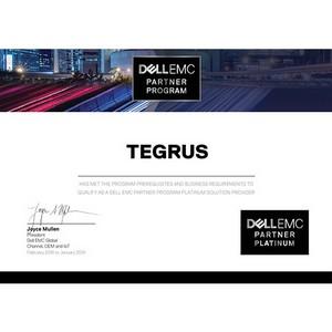 Tegrus обменял золото Dell EMC на платину
