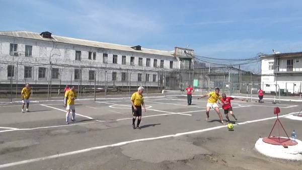 В ИК-29 ГУФСИН Кемеровской области завершился чемпионат учреждения среди осужденных по мини-футболу