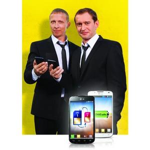 LG и Евросеть запустил рекламную кампанию смартфона Optimus L7II Dual с Охлобыстиным и Хабенским