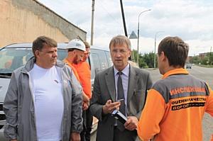 Дорожная инспекция ОНФ проверила качество дорог в Кызыле