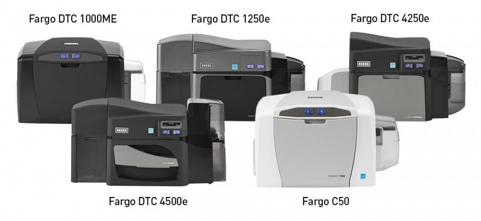 Карт принтеры-кодировщики Fargo – безопасность, контроль и эффективность