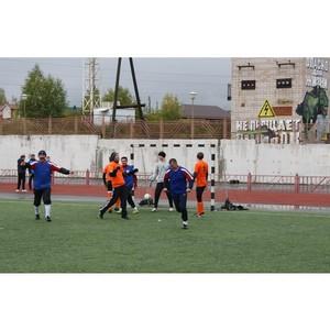 Удмуртэнерго провел открытое первенство по футболу среди энергетиков