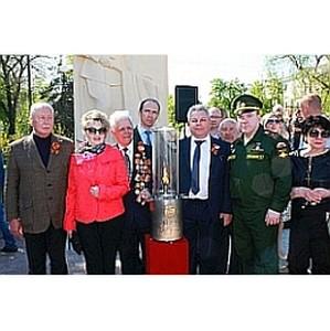 Активисты Белгородского отделения ОНФ приняли участие в зажжении Вечного огня в Белгороде