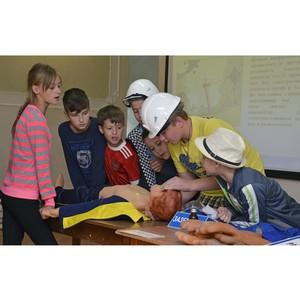 Сотрудники Тамбовэнерго провели занятие по электробезопасности для детей в санатории «Энергетик»
