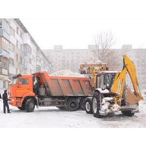 Коммунальные службы Московской области в усиленном режиме убирают выпавший снег