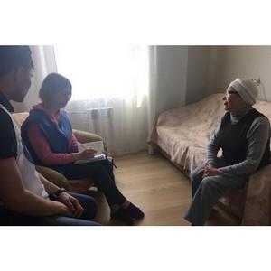 Курганские активисты ОНФ помогли пенсионерке-инвалиду получить волонтерскую опеку