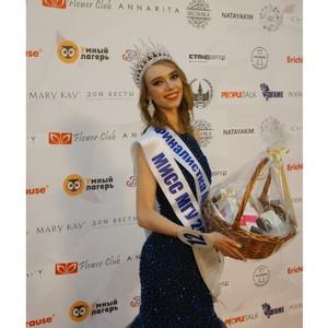 Компания Mary Kay® выступила генеральным beauty-партнером конкурса «Мисс МГУ 2017»