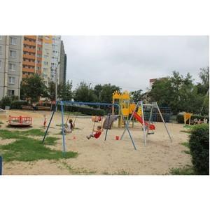 Активисты ОНФ выявили в Воронеже несоответствие обновленных детских площадок сметам