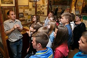 Акция «Заглянуть в прошлое» продолжилась в Киевском музее-доме М. Булгакова и Музее одной улицы