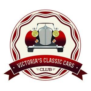Сувенир на память от Victoria's Classic Cars!