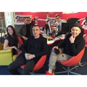 Группа «Марсель» посетила Открытую студию Европы плюс в «Ауре»