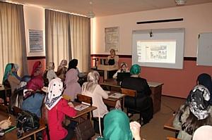 Активисты ОНФ в Чечне провели семинар по вопросам межэтнического общения в молодежной среде