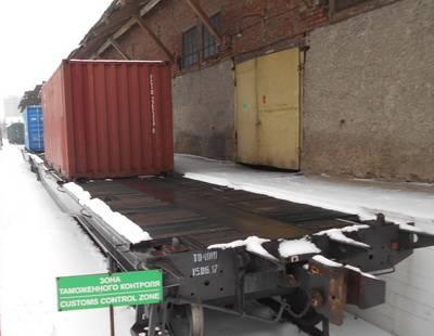 В Смоленске контейнеры с товарами, подпадающими под ограничительные меры, развернули обратно
