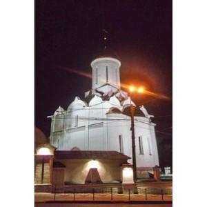 Троицкий храм в Иванове засиял огнями