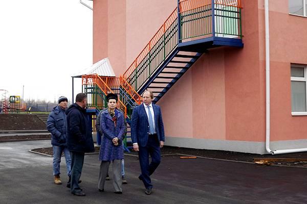 Новый детский сад строится в Тарасовском районе