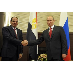 О визите Президента Российской Федерации В.Путина в Египет