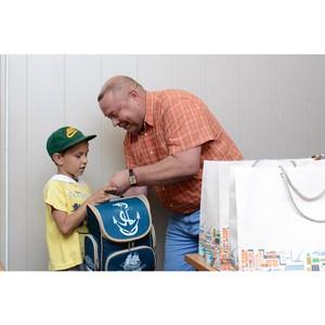 «Ульяновскцемент» помог собраться в школу