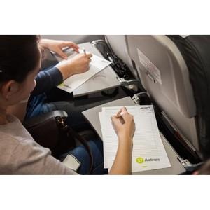На борту S7 Airlines провели «Тотальный диктант»