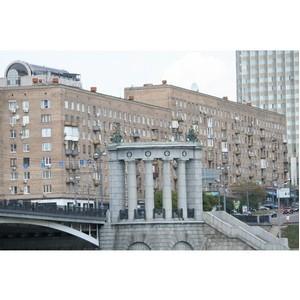 Рейтинг районов ЦАО по объему предложения квартир