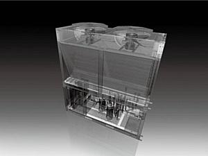 LG представляет чиллеры воздушного охлаждения со спиральным компрессором инверторного типа