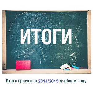 Итоги работы проекта «SmileS.Школьная карта» в 2014/2015 учебном году