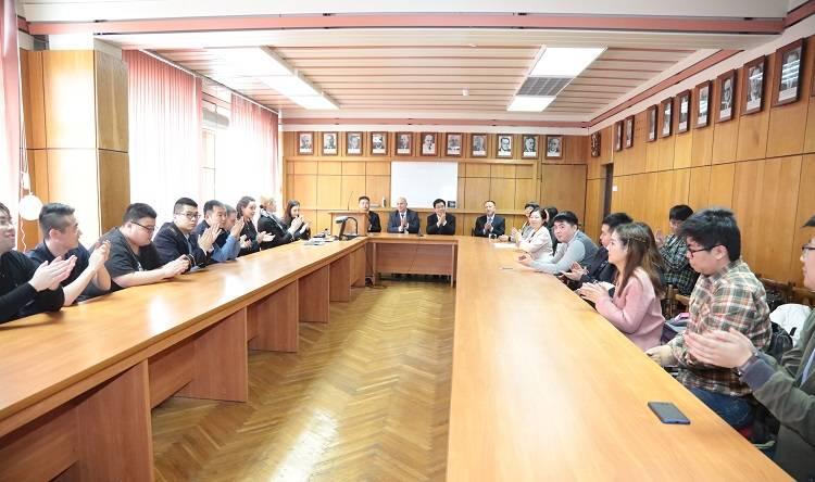Делегация Хэбэйского геологического университета провела переговоры с МГРИ-РГГРУ им. Орджоникидзе