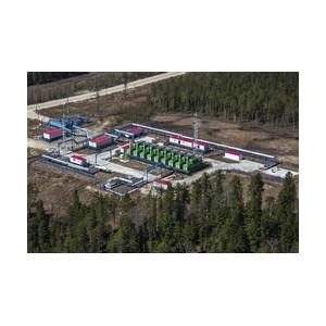 «Аганнефтегазгеология» ввела в эксплуатацию компрессорную станцию на Мохтиковском месторождении