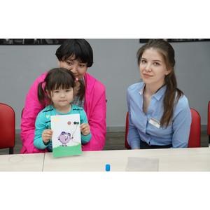 Творческий мастер-класс для особенных детей в Екатеринбурге