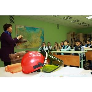 Удмуртэнерго продолжает проводить уроки электробезопасности для школьников