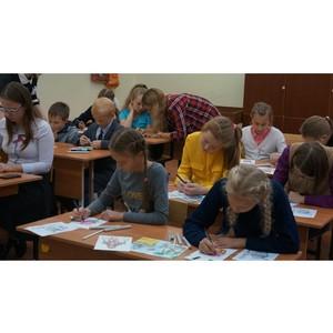Активисты ОНФ в Карелии провели занятия для учащихся школ Медвежьегорского района