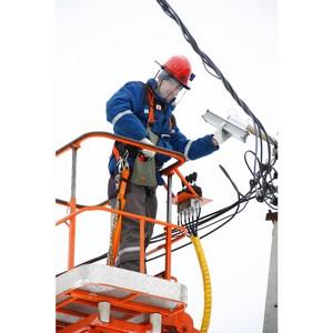 Сотрудники Ярэнерго модернизировали систему наружного освещения в городе Данилове.
