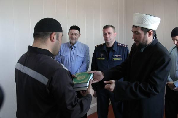 В ИК-44 ГУФСИН России по Кемеровской области открыта мечеть для осужденных