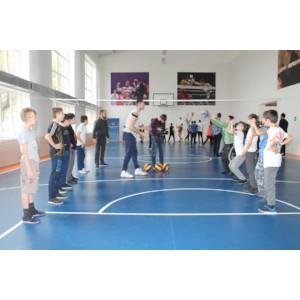 Волейбольный клуб «Грозный» присоединился к акции ОНФ «Зарядка с чемпионом»