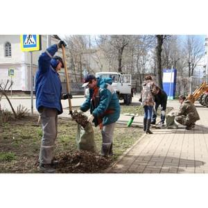 Энергетики ярославского филиала МРСК Центра приняли участие в субботнике