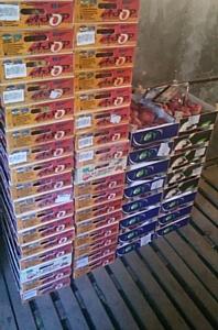 Более 130 килограммов «санкционных» персиков выявлено в ходе рейда в Смоленске